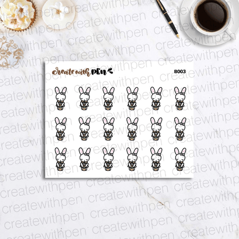 B003 | Bella and frap | Planner Stickers