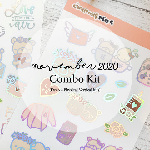 Monthly Subscription - Dec Combo Kit (Love You)