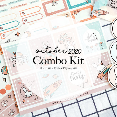 Monthly Subscription - Oct Combo Kit (Bella in Space)