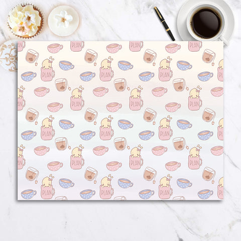 Coffee and Tea with Tinta | Printed cardstock paper