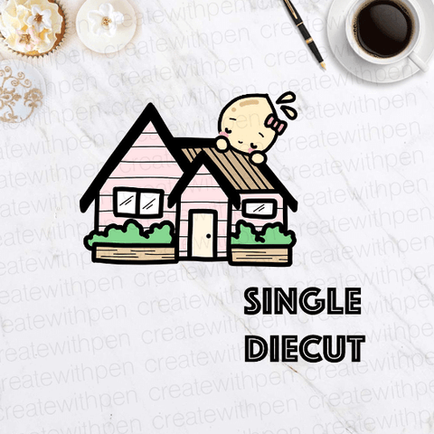 DIECUT: Home sweet Home | Planner Decoration