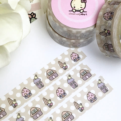 Washi Tape | Cute Houses
