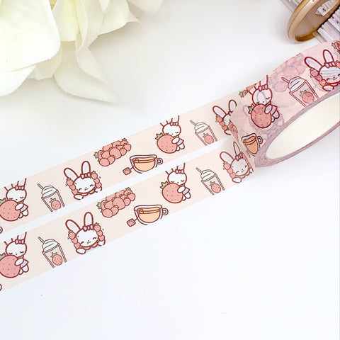 Bella Loves Strawberries | Washi Tape