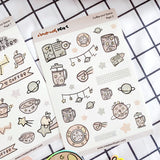 Coffee and Space Deco Kit (Aug 2020 COLLECTION)