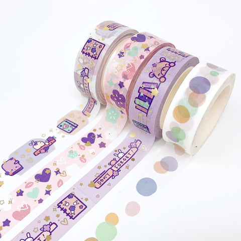 Floral Stationary | Washi Tape Set | February 2021 Collection
