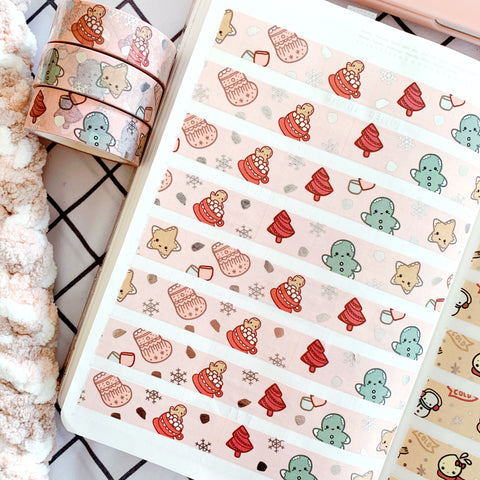 Gingerbread Washi Tape | Winter 2020 Collection