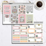KIT08(EC) - Home for the Holidays | Tinta Planner Sticker Mini Kit
