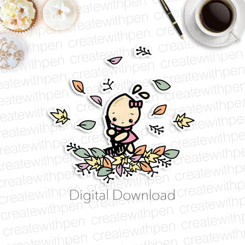 Digital: Tinta in Autumn Leaves