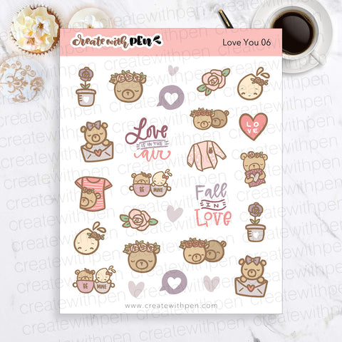 Love You 06 | Deco | December 2020 Collection