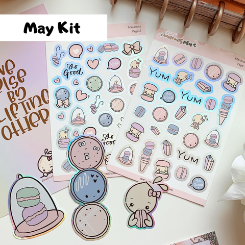 Macarons DECO KIT (May 2020 COLLECTION)