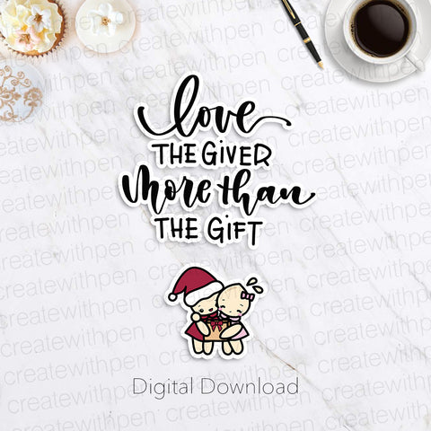 Digital: Love the Giver