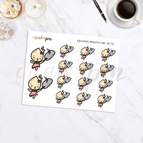 TA31 | Tinta | Dusting | Planner Stickers