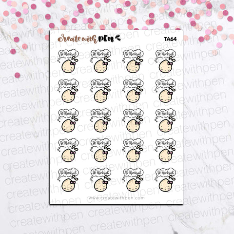 TA64 | Tinta | Be THANKFUL | Planner Stickers