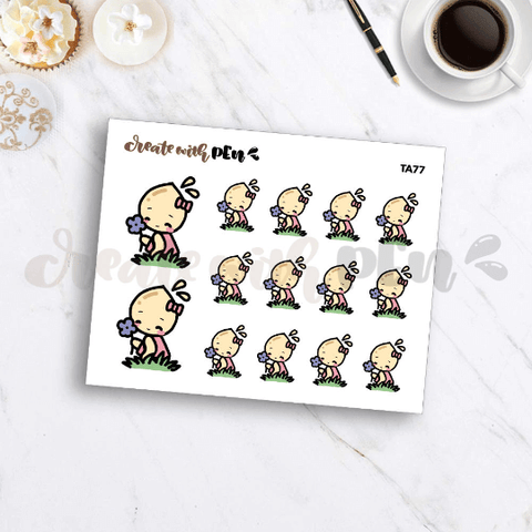 TA77 | Tinta | IN NATURE | Planner Stickers