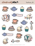 Tea Party 02 Assorted Deco | November 2020 Collection