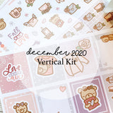 December Vertical Kit (Physical) | Love You