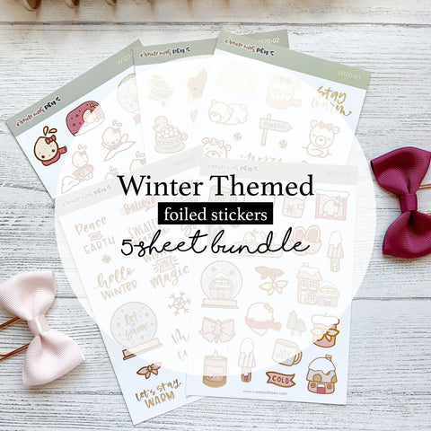 5-Sheet Bundle | Winter 2020 Collection