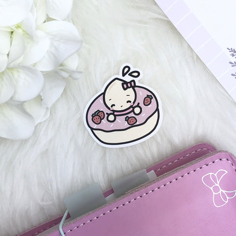 DIECUT: Strawberry Doughnut | Planner Decoration