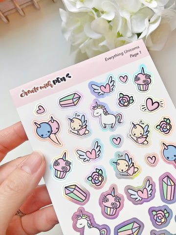 Everything Unicorns DECO KIT (March 2020 COLLECTION)