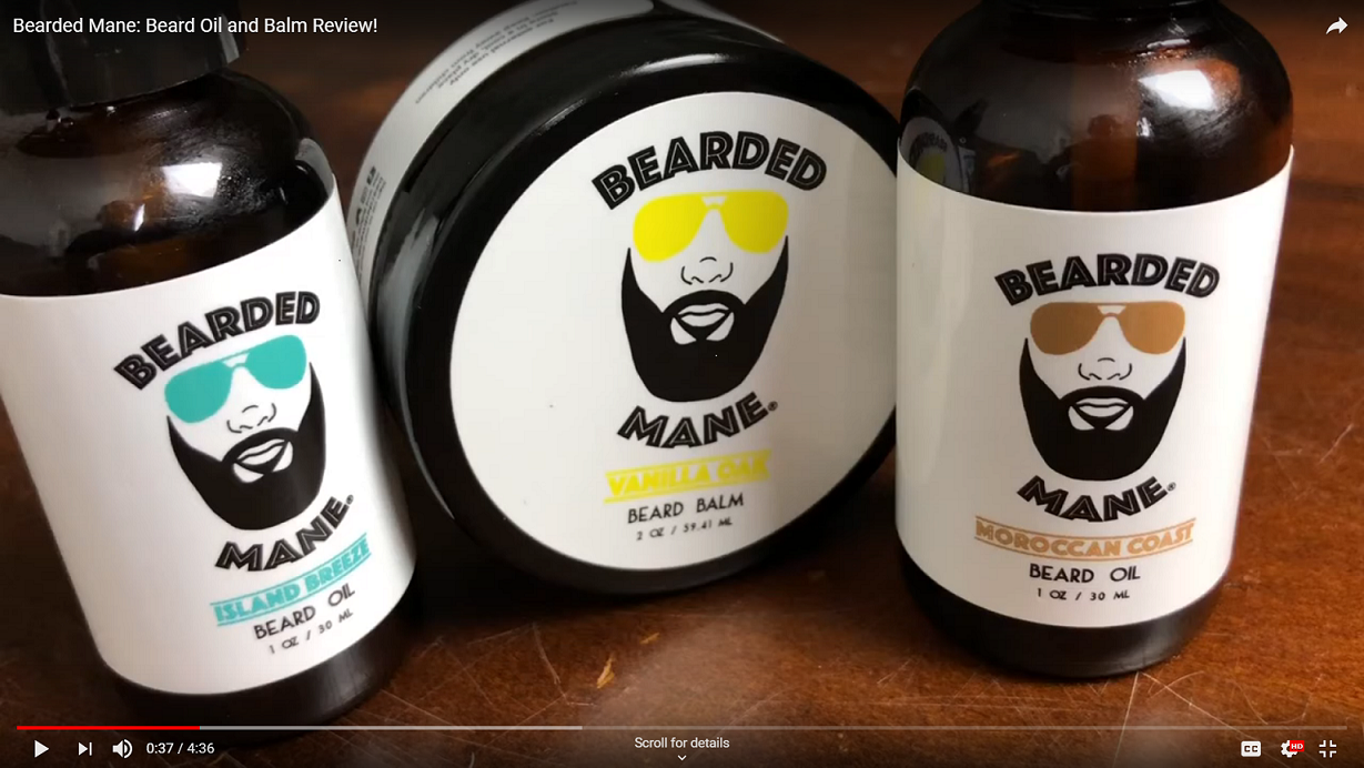Bearded Mane® by Beard Product Review