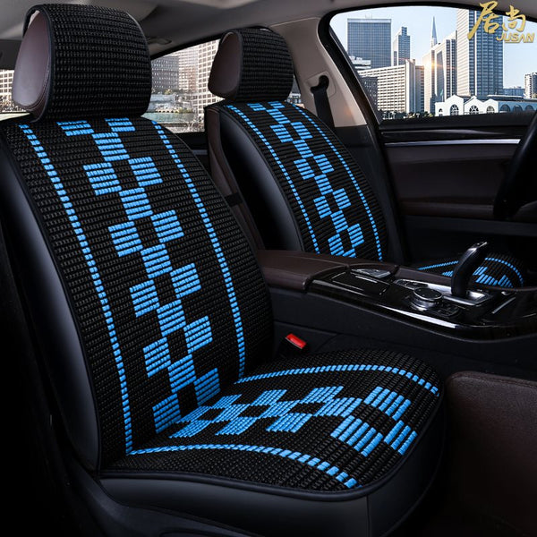 Strange Simple Color Block Universal Single Car Seat Cover Oroyalcars Alphanode Cool Chair Designs And Ideas Alphanodeonline