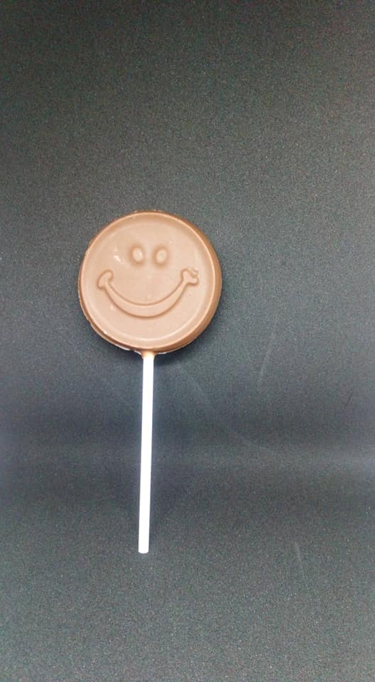 Dark Chocolate Smiley