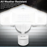 LED Motion Sensor Lights Outdoor - White - kasonicdeal
