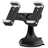 Dual Holders Stand Car Mount for Cell Phones GPS - kasonicdeal