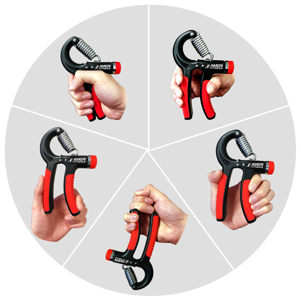 Hand Grip Strengthener Strength 2 Pack - kasonicdeal