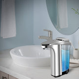 Automatic Touchless Soap Dispenser, Modern Design Water-Resistant Infrared Motion Sensor and Large Capacity, Perfect for Kitchen and Bathroom - kasonicdeal