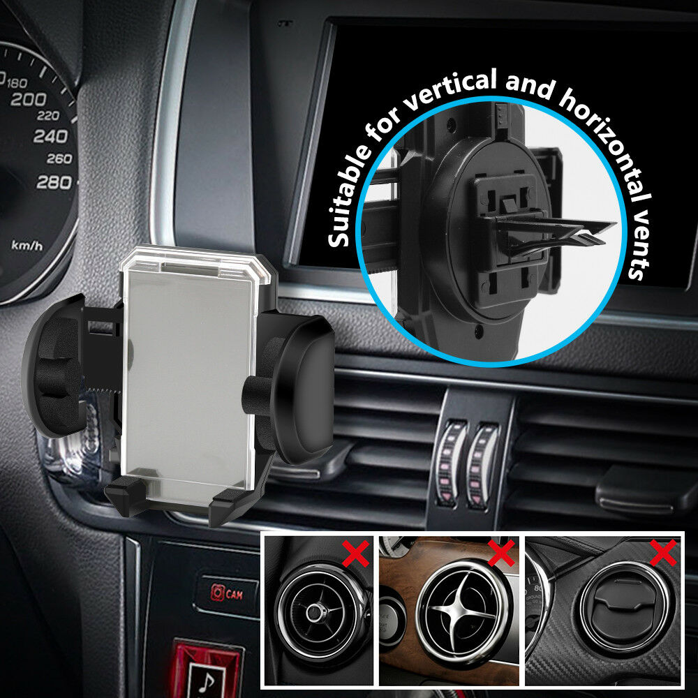 Car Windshield Mount Holder Bracket Cradle For Cell Phone Mobile GPS - kasonicdeal
