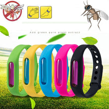 Load image into Gallery viewer, Dropship Mosquito Killer Silicone Wristband Summer Mosquito Repellent Bracelet Anti Mosquito Band Children Insect Killer
