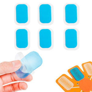 60 PCS Hydrogel Abdominal Gel Stickers Smart Muscle Stimulator Fitness Abdominal Tool Training Device Gym Equipment Stickers