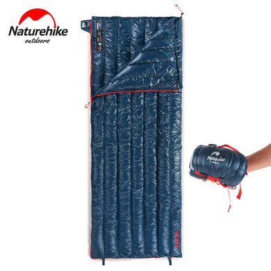 Naturehike 570g Ultralight Waterproof White Goose Down Sleeping Bag  Envelope Type Lazy Bag Camping Sleeping Bags