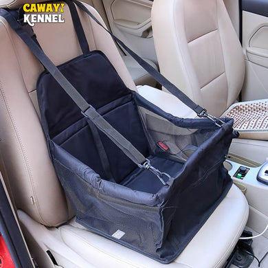 PVC Pet Car Seat Bag Carriers Waterproof Folding Hammock Car Mat Seat Cover Dog Carry Storage Bag for Travel D1224