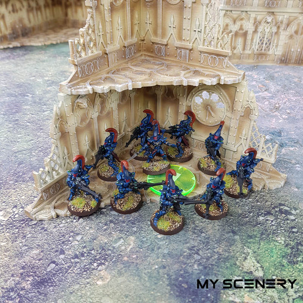 Hold steady eldar Objectifs objectif Objective objectives  Markers 40mm 40 mm 123456 W40K warhammer 40 000 NEW40K V 9th edition