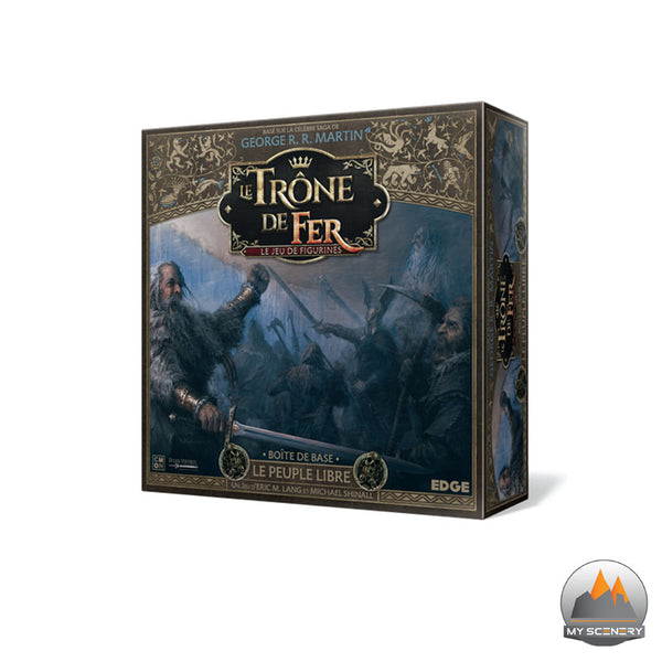 Le peuple libre Free folk A SONG OF ICE AND FIRE ASOIF Le trone de fer le jeu de figurine