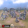 Anciennes Ancient Ruines Ruine Ruin Warhammer Age Of Sigmar Decor Decors 3D Table Warhammer 40K