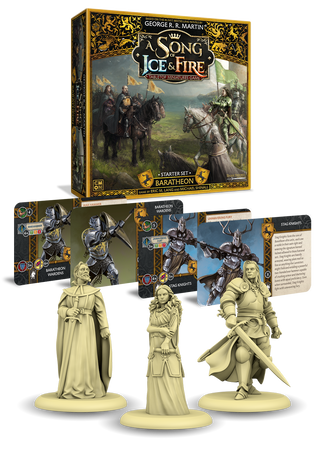 Baratheon starter set A SONG OF ICE AND FIRE ASOIF ASOIAF Le trone de fer le jeu de figurine