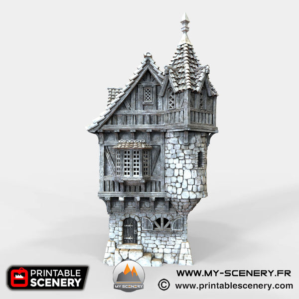 Le manoir du gouverneur Governor Mansion Warhammer Age Of Sigmar Decor 3D Decors Table Warhammer 40K