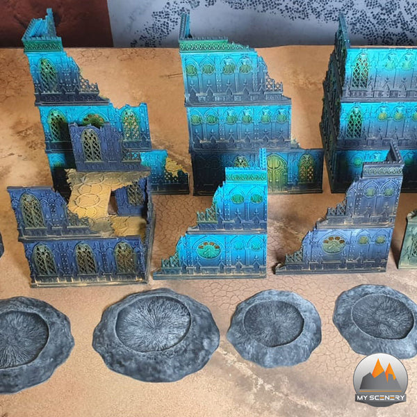 ETC Tabletop wargame table 3 4 type My Scenery Warhammer 40000 40k