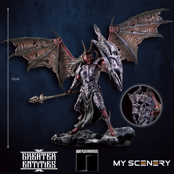height Manca DEMON prince proxy countas count as W40K Warhammer 40 0000 GREATER ENTITIES LEGION DISTRIBUTION MY SCENERY