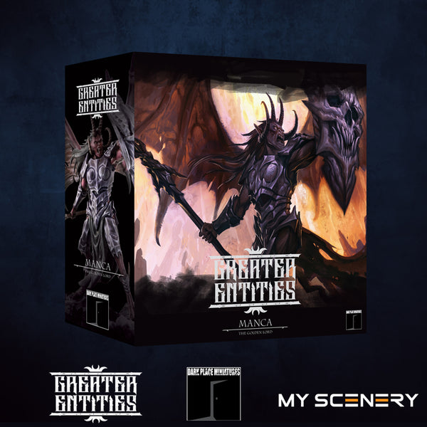 Box boite Manca DEMON prince proxy countas count as W40K Warhammer 40 0000 GREATER ENTITIES LEGION DISTRIBUTION MY SCENERY