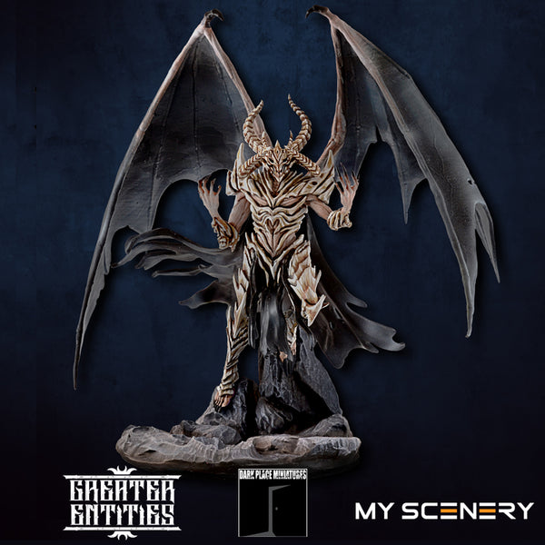 LG Ossuary Ossuaire DEMON prince proxy countas count as W40K Warhammer 40 0000 GREATER ENTITIES LEGION DISTRIBUTION MY SCENERY
