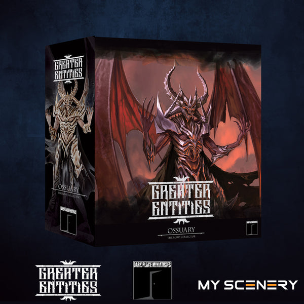 Box Ossuary Ossuaire DEMON prince proxy countas count as W40K Warhammer 40 0000 GREATER ENTITIES LEGION DISTRIBUTION MY SCENERY