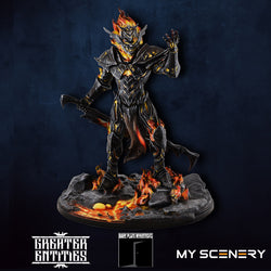 Pyrexia DEMON prince proxy countas count as W40K Warhammer 40 0000 GREATER ENTITIES LEGION DISTRIBUTION MY SCENERY