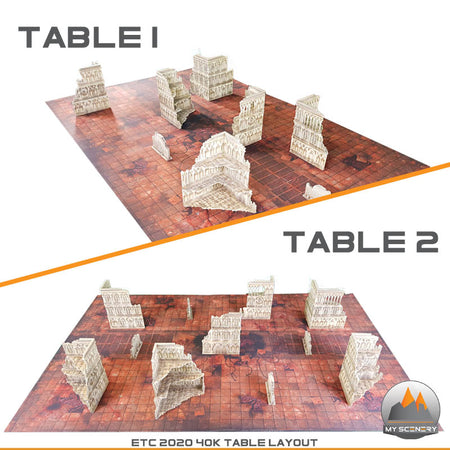 PDF - ETC LUX 2020 40K Gothic Table MY SCENERY Layout