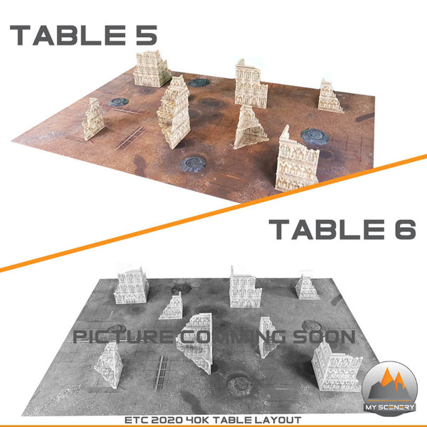 PDF - ETC 2020 40K Gothic Table MY SCENERY Layout