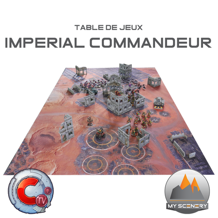 Table Futur imperial commandeur tv
