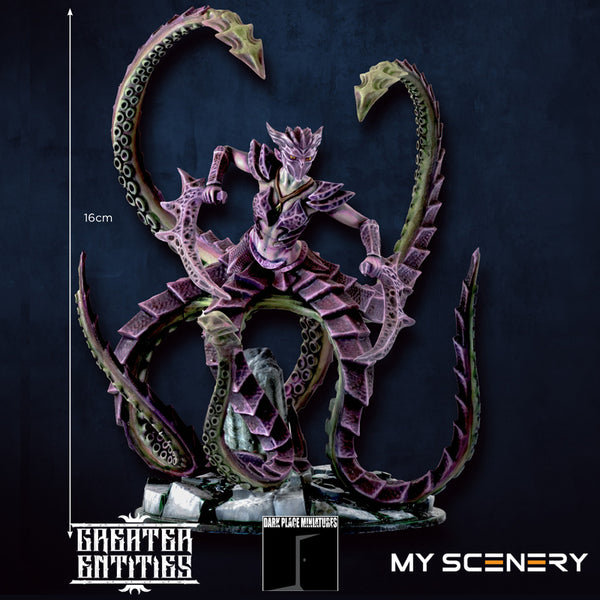 height  Voratrix salax DEMON prince proxy countas count as W40K Warhammer 40 0000 GREATER ENTITIES LEGION DISTRIBUTION MY SCENERY